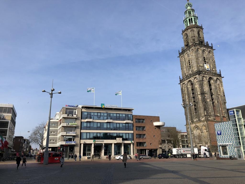 Verbouw ABN AMRO Grote Markt te Groningen