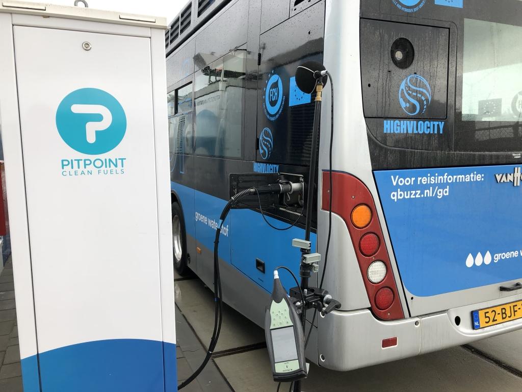 Waterstoftankstation PitPoint Westervoortsedijk in Arnhem