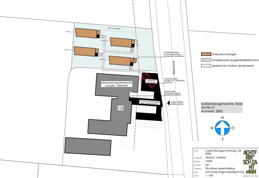 Verkeerslawaai onderzoek 4 woningen Pontweg te Texel